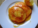 Lemon and ricotta pancakes
