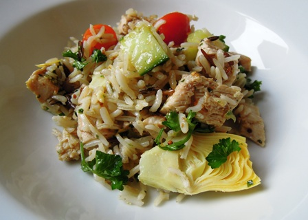 salad artichoke rice salad recipe yummly artichoke and rice salad ...