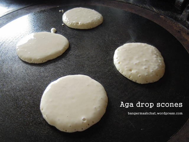 Aga drop scones
