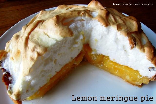 Lemon meringue pie | Bangers & Mash