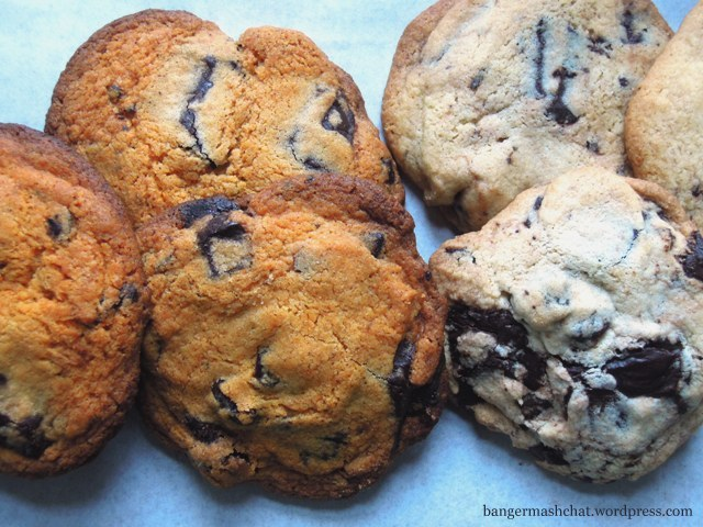 chilli chocolate and cherry cookies
