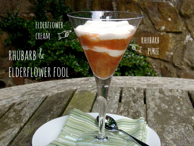 rhubarb and elderflower fool 3