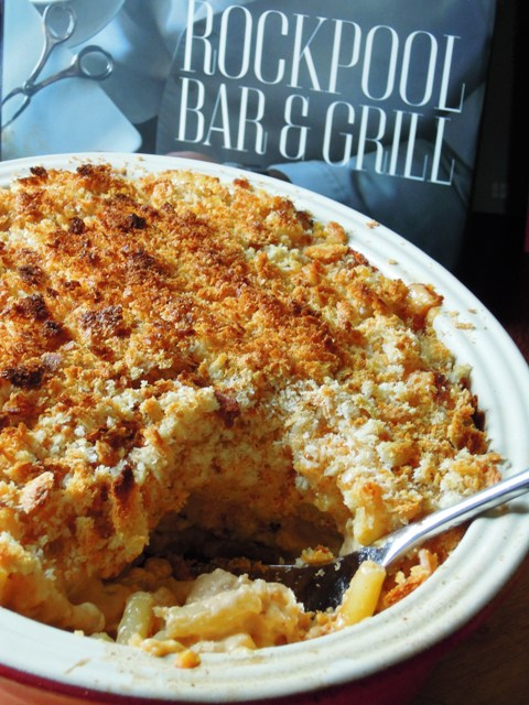 posh macaroni cheese