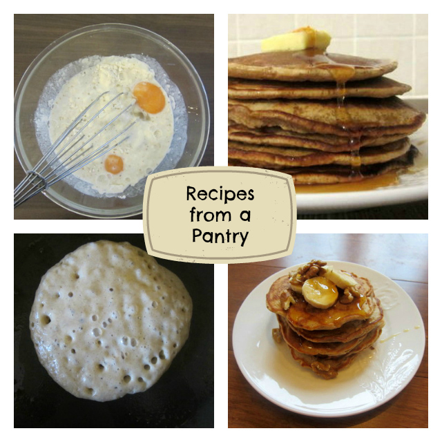 Recipes from a Pantry Collage