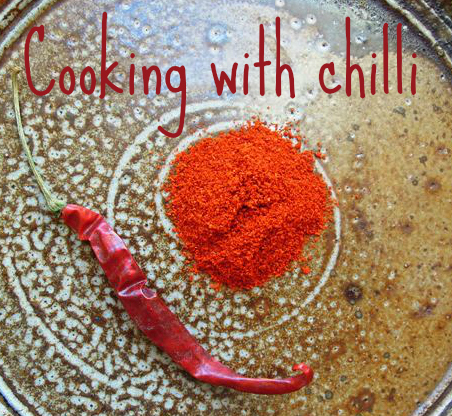 cooking with chilli