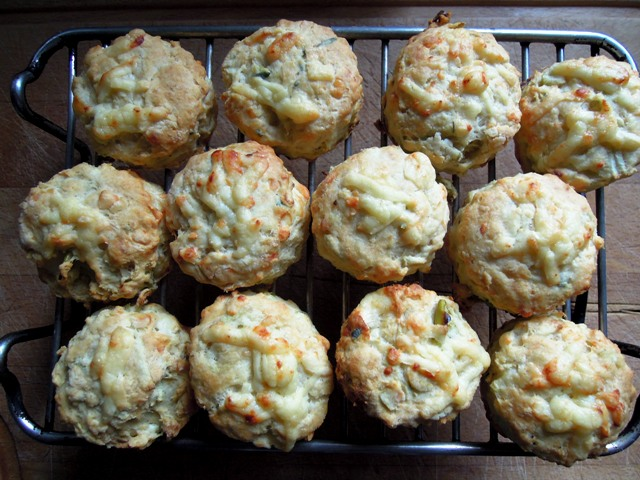 cheese and apple scones