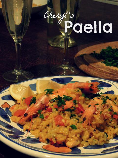cheryls paella