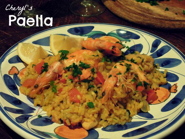 cheryl's paella
