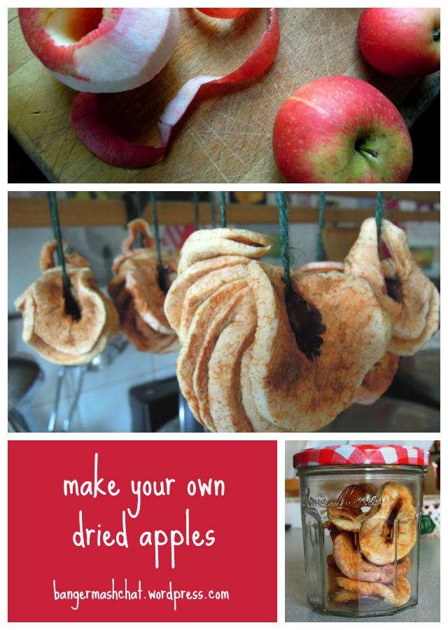Dried Apple Collage