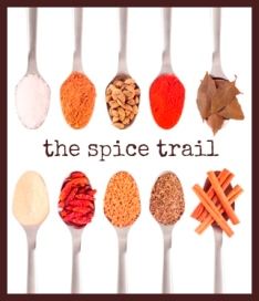 spice trail badge square