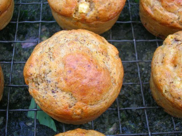 Chilli Corn Chocolate Muffins from Chocolate Log Blog