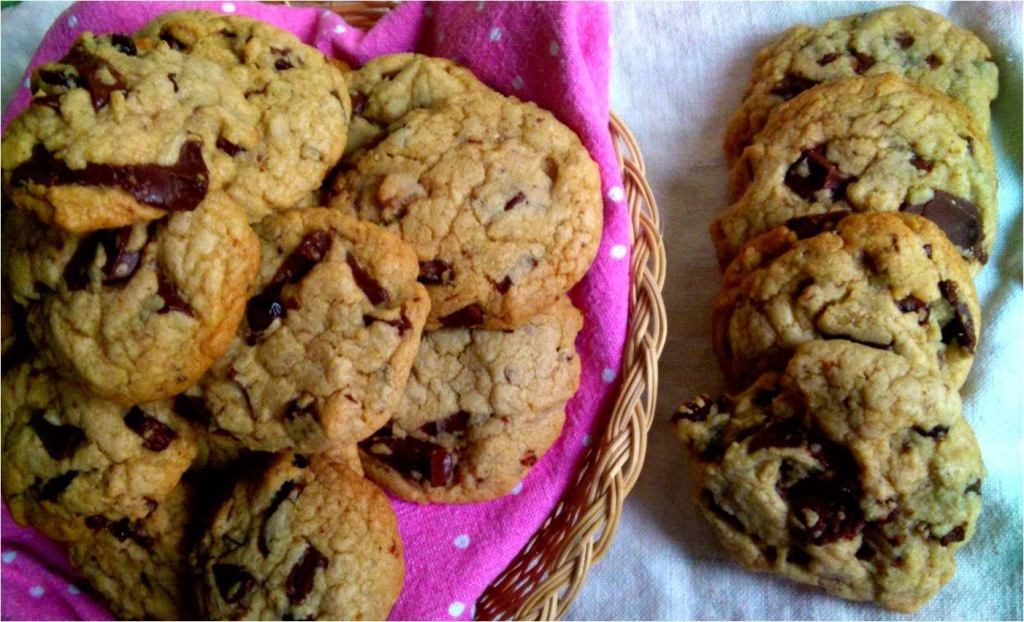 choc orange cranberry cookies
