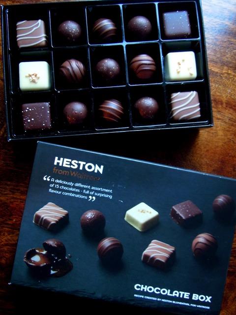 heston blumenthall chocolate box