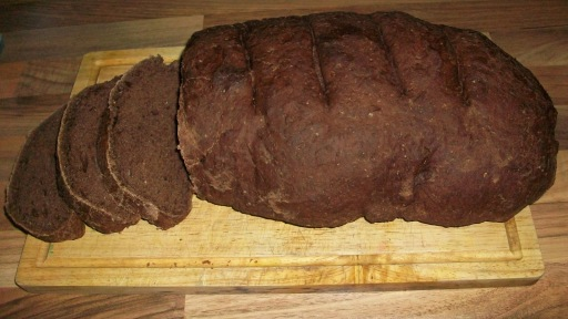 chocolate chestnut spiced loaf