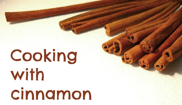 cooking with cinnamon