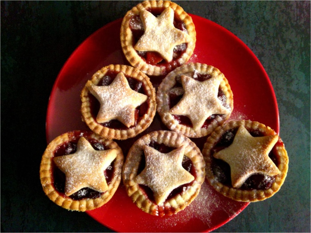 festive fruit pies