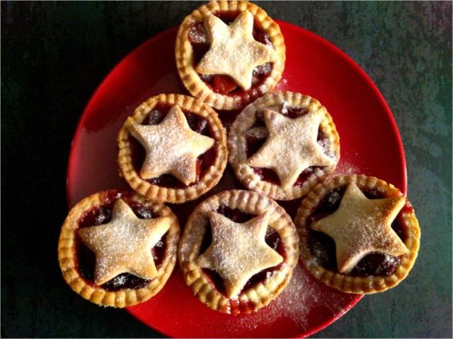 festive fruit pies