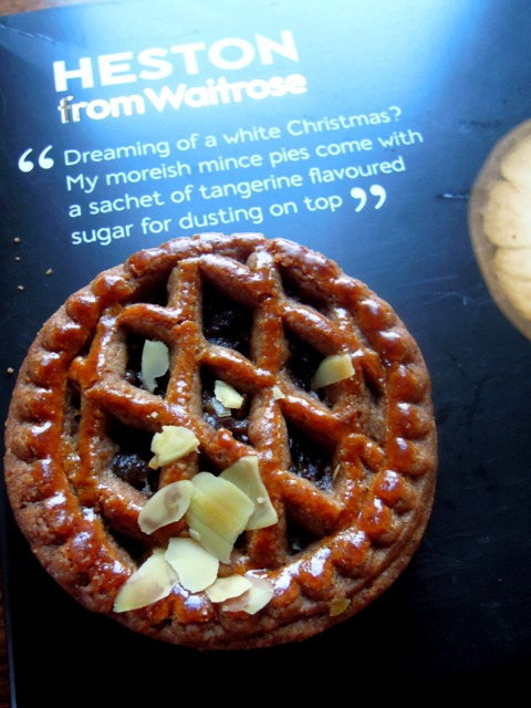 heston blumenthall mince pie