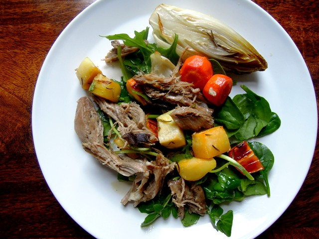 slow roast lamb