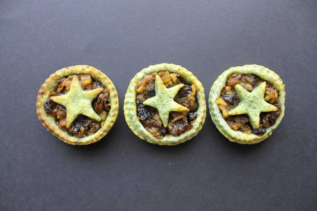 Spinach-Mince-Pies