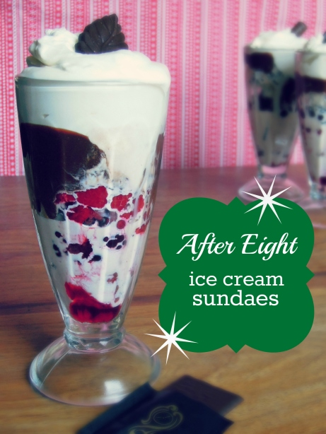 after eight sundae