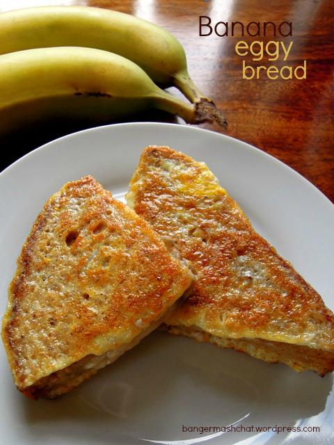 banana eggy bread