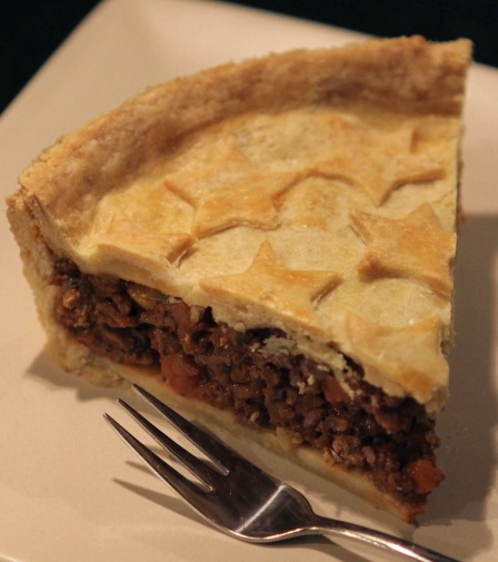 beef pie with hidden carrot