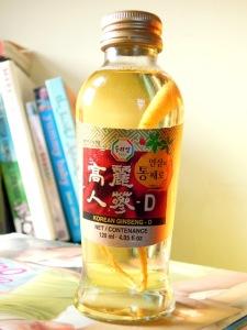 korean ginseng drink