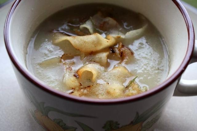 jeruslam soup+crisps