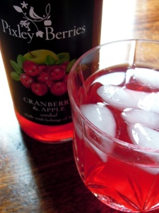 pixley berries apple and cranberry cordial