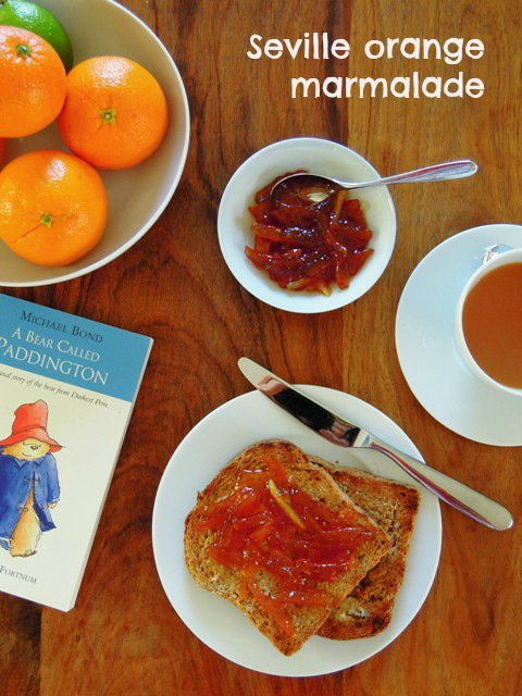 seville orange marmalade