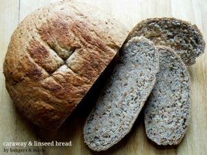 caraway and linseed bread