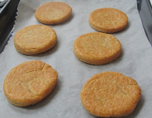 Cheese and Paprika biscuits