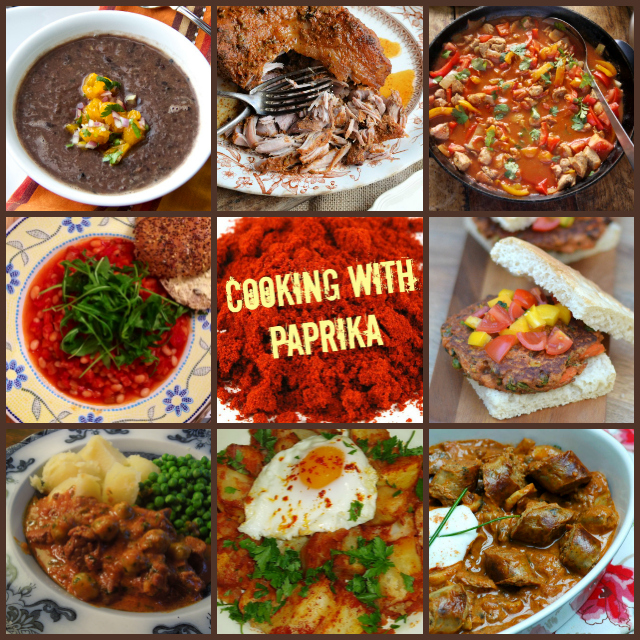 Paprika Collage