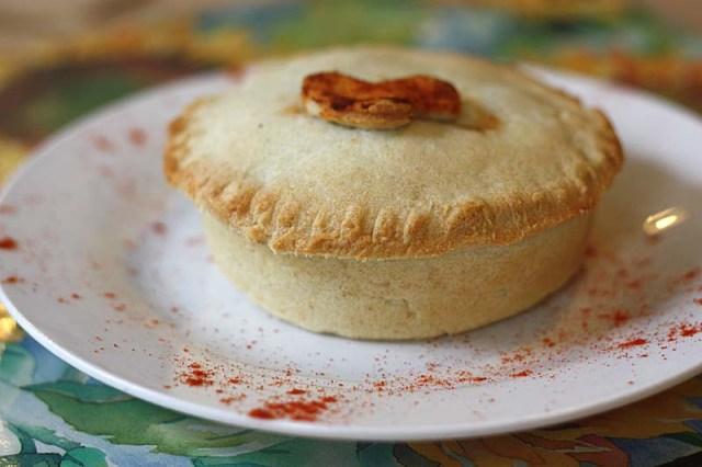 Paprika Mushroom Pie