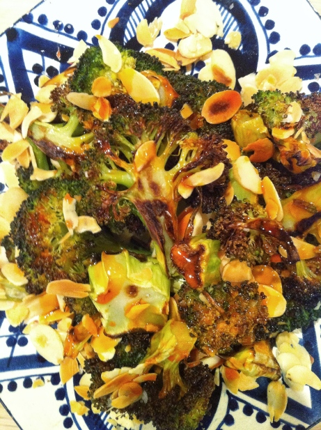 roasted brocolli
