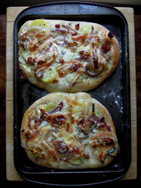 tartiflette pizza