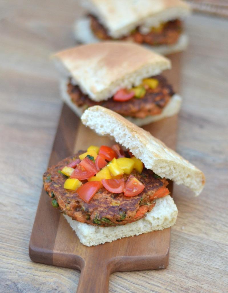 vegetable burgers