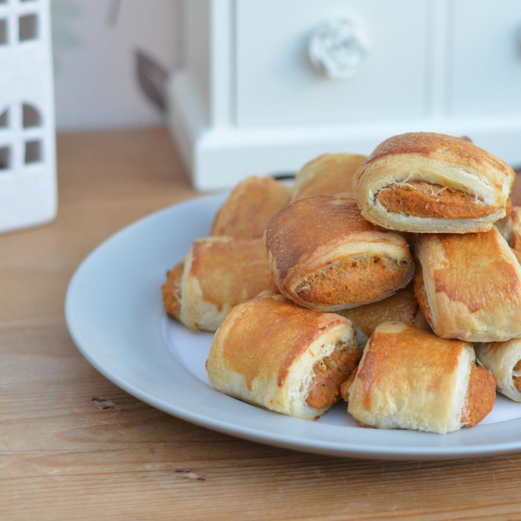 veggie sausageless rolls