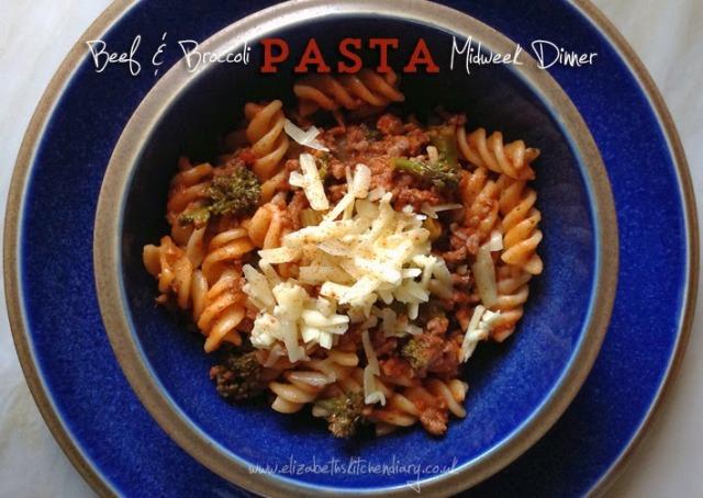 beef broccoli pasta