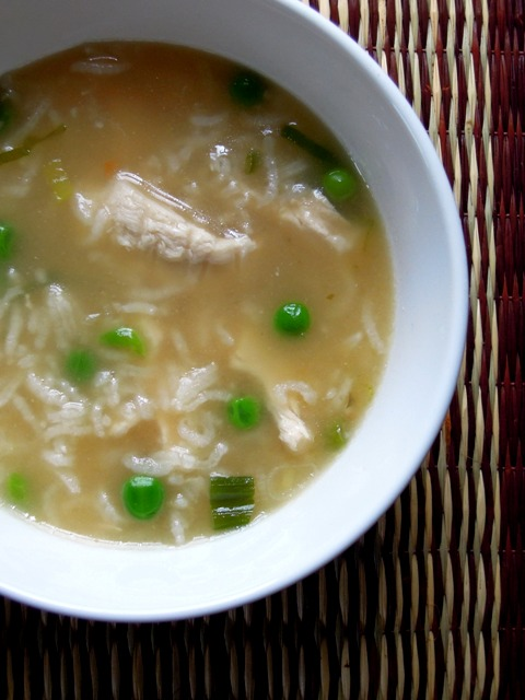 chicken soup with rice