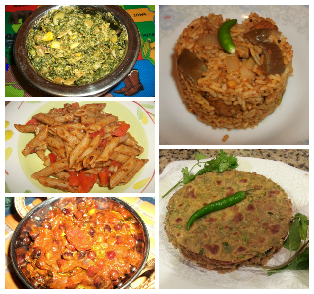 HomeCookFood Collage