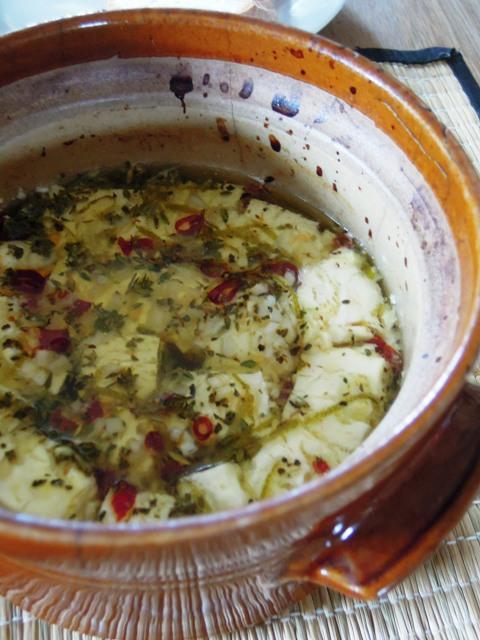chilli baked feta