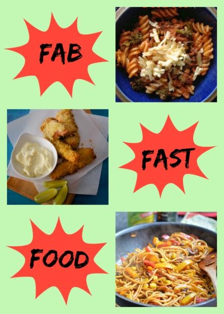 FabFastFood Collage