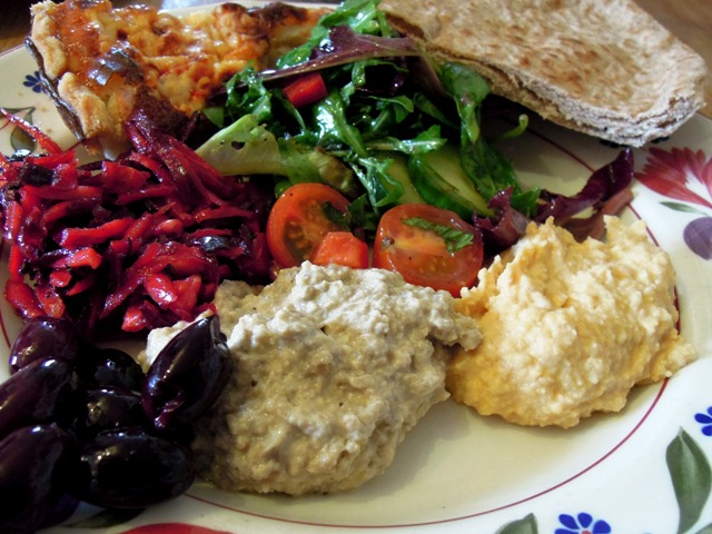 Why not serve your dips as part of a mezze?