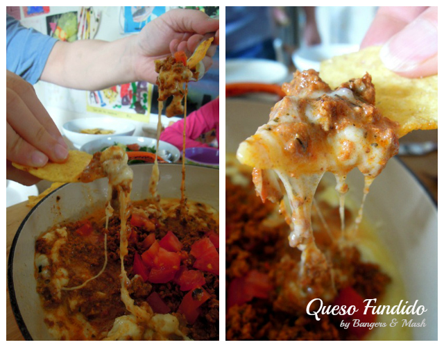 Queso Fundido Collage