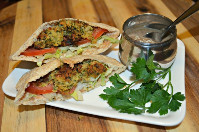 spicy falafel