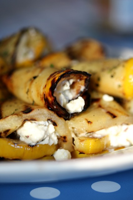 griddled squash