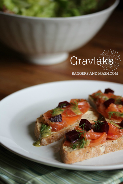 gravlaks with beetroot pickle and dill mustard sauce 3 text
