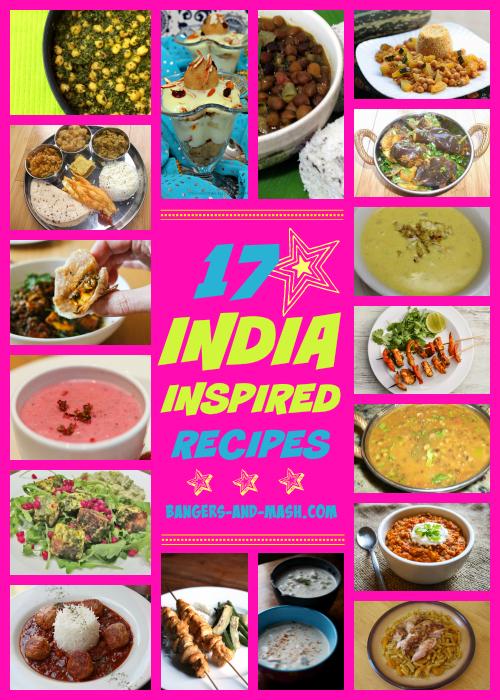 India Recipes Collage